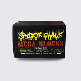 Spider Chalk-Block Chalk 1lb box with x3 5.3oz Mega Blocks