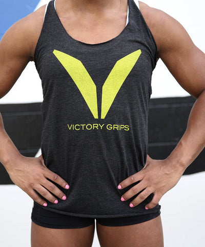 Women's Yellow VG Logo Tank
