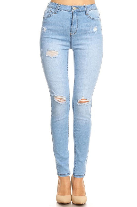 Millie Distressed Denim