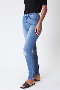 Janet Distressed Denim
