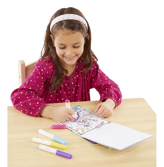 Melissa & Doug Magicolor - On the Go - Princess Coloring Pad