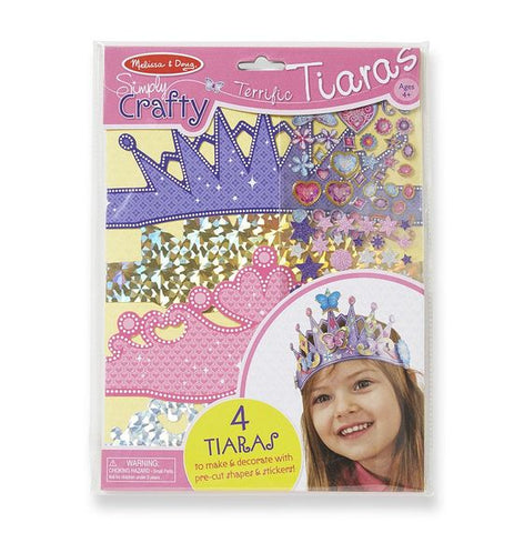 Melissa & Doug Simply Crafty - Terrific Tiaras