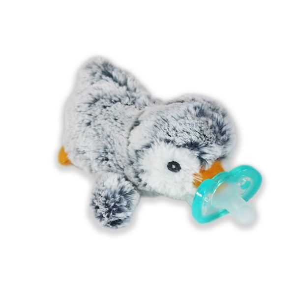 RaZbaby RaZ-Buddy Jollypop with Removable Pacifier - Ethan Penguin