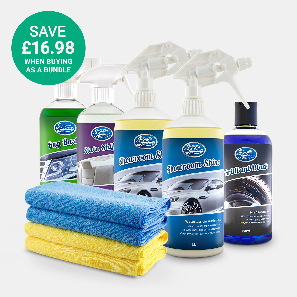 Interior & Exterior Car Care Bundle