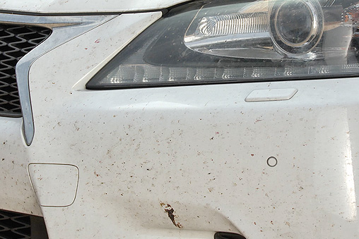Bug splats can make the task of cleaning your car really unpleasant.