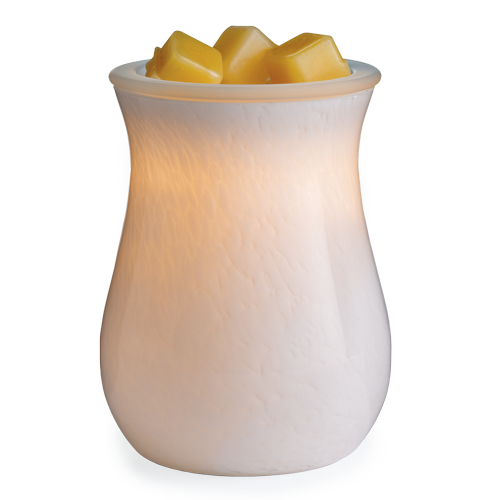 Moonstone Blown Glass Illumination Warmer