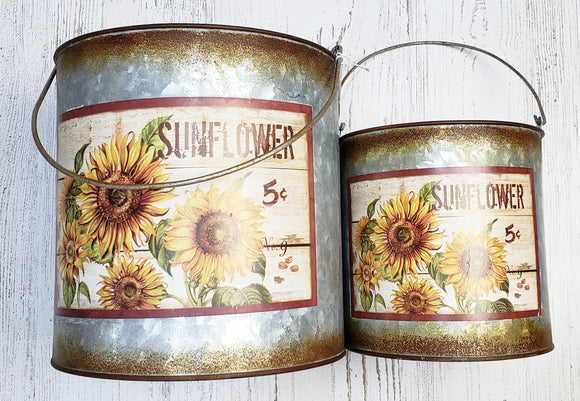 Sunflower Canister