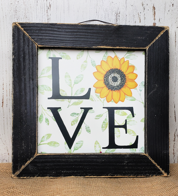 Sunflower Love Print
