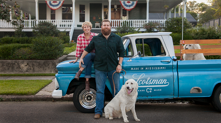 A Q&A with Home Town Hosts Ben and Erin Napier