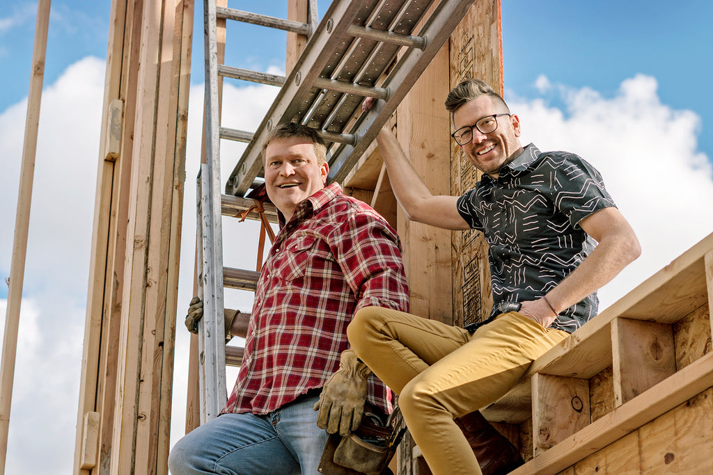 Meet HGTV's Oddest Couple: Boise Boys' Luke Caldwell and Clint Robertson