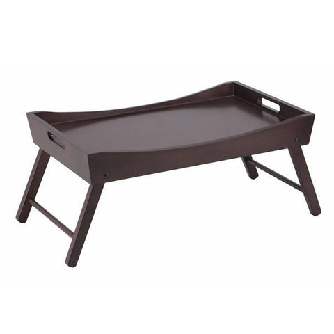 BENITO BED TRAY WITH CURVED TOP AND FOLDABLE LEGS