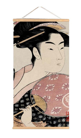 Japanese Style Ukiyo-E Style Paninting for Living Room Bedroom Restaurant, P1