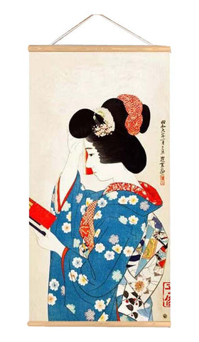 Japanese Style Ukiyo-E Style Paninting for Living Room Bedroom Restaurant, P2