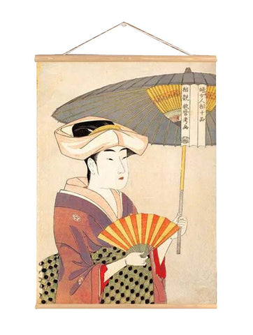 Japanese Style Ukiyo-E Style Paninting for Living Room Bedroom Restaurant, P7