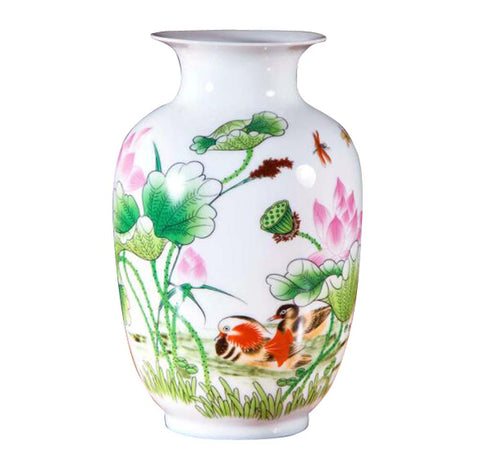 Chinese Style Ceramic Vase,Home Decoration Vase and Table Centerpieces Vase,A02