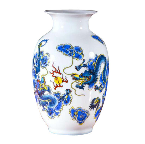 Chinese Style Ceramic Vase,Home Decoration Vase and Table Centerpieces Vase,A03