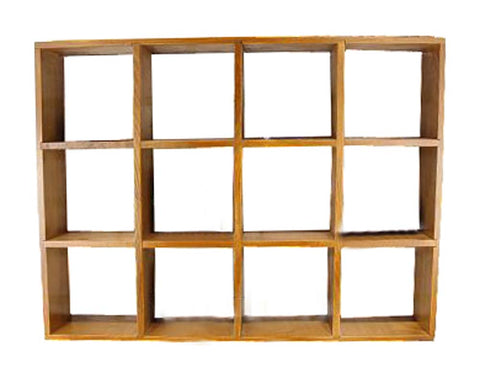 Elagant Creative Wood Storage Shelves Wall Hanging Storage Rack