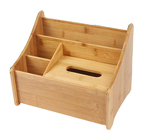 High-grade Handicraft Desktop Storage Box Receive Container,Natural Color