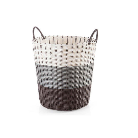 Laundry Basket with Handle  Storage Baskets Cute Home Decoration