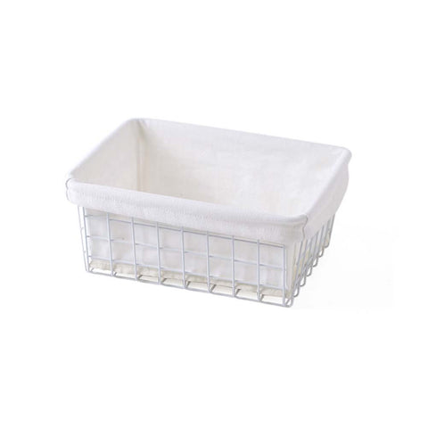 Wrought Iron Storage Basket Bathroom /Kitchen Storage Basket