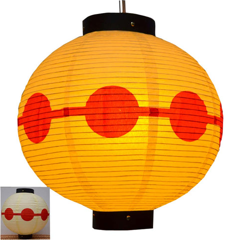 Durable Paper Lantern Japanese Style Restaurant Hanging Decor D