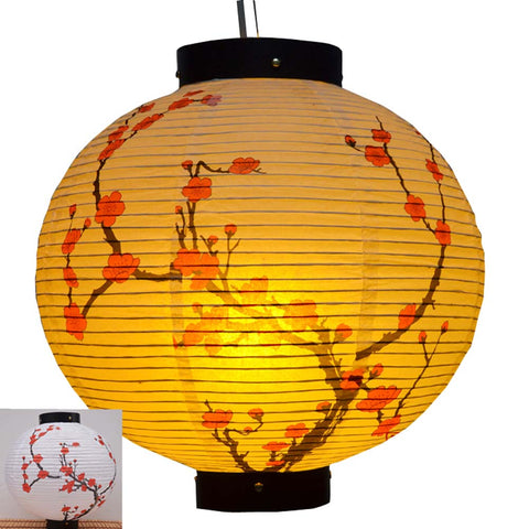Durable Paper Lantern Japanese Style Restaurant Hanging Decor P