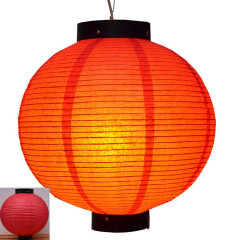 Durable Paper Lantern Japanese Style Restaurant Hanging Decor R