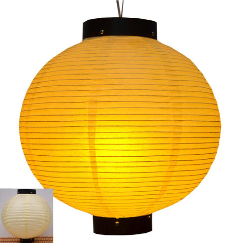 Durable Paper Lantern Japanese Style Restaurant Hanging Decor S