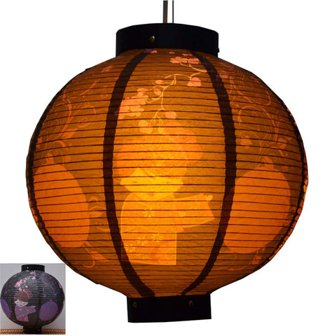 Durable Paper Lantern Japanese Style Restaurant Hanging Decor T