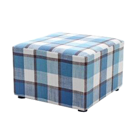 Fashionable Square Cloth Modern Small Stool Table Stool Sofa Pier Ottoman Stool, B