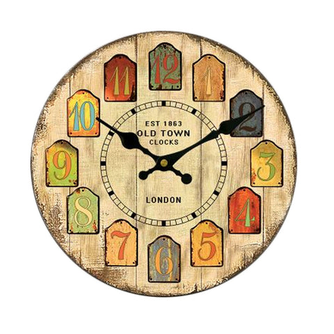 "14"" Mute Wall Clock Quartz Clock"
