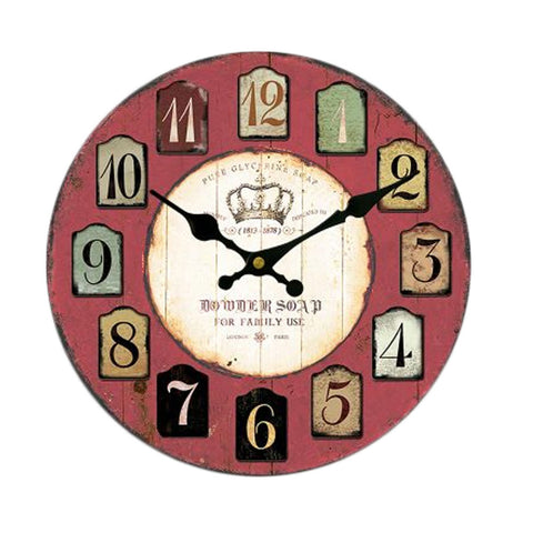 "14"" Creative Mute Wall Clock Quartz Clock For Sitting room/Bedroom"