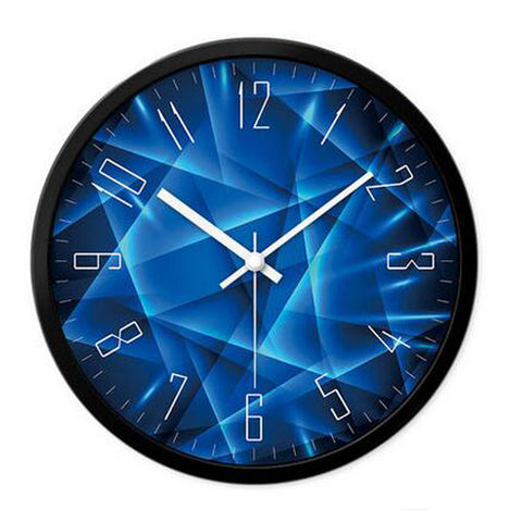 Modern & Personality Circular Clock Living Room Decorative Silent Round Wall Clocks, A10