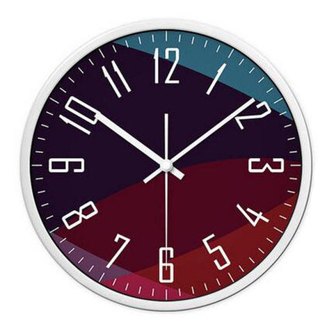 Modern & Personality Circular Clock Living Room Decorative Silent Round Wall Clocks, A14