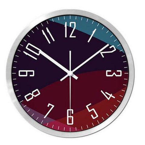 Modern & Personality Circular Clock Living Room Decorative Silent Round Wall Clocks, A15