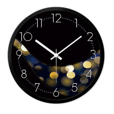Modern & Personality Circular Clock Living Room Decorative Silent Round Wall Clocks, A22