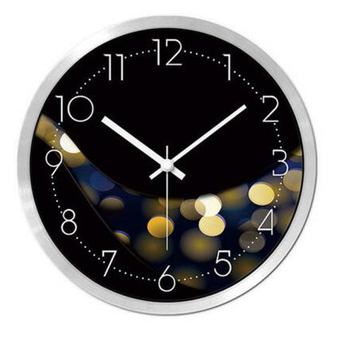 Modern & Personality Circular Clock Living Room Decorative Silent Round Wall Clocks, A24