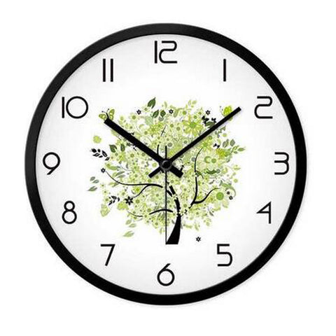 Modern & Personality Circular Clock Living Room Decorative Silent Round Wall Clocks, A25