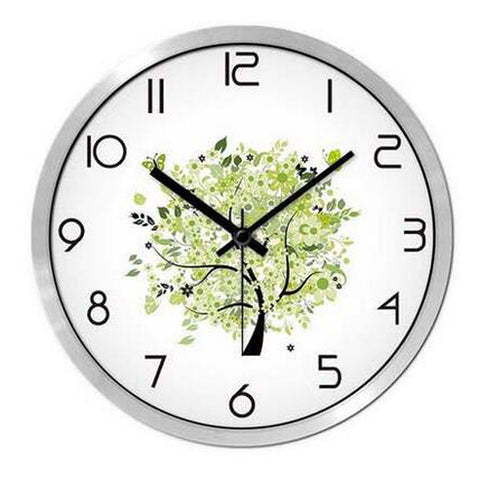 Modern & Personality Circular Clock Living Room Decorative Silent Round Wall Clocks, A27