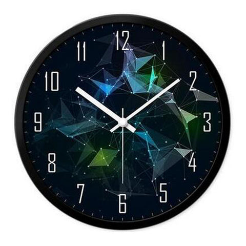 Modern & Personality Circular Clock Living Room Decorative Silent Round Wall Clocks, A28
