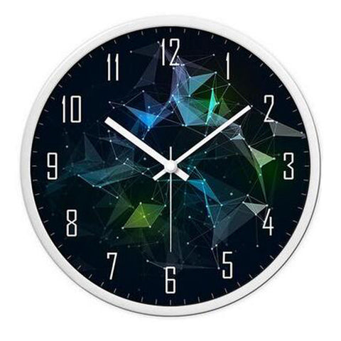 Modern & Personality Circular Clock Living Room Decorative Silent Round Wall Clocks, A29