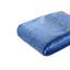 [Flannel Blanket] Blue Lightweight Cozy Plush Microfiber Solid Blanket
