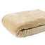 [Flannel Blanket] Khaki Lightweight Cozy Plush Microfiber Solid Blanket