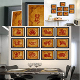 Chinese Traditional Ideas Paper-Cut Adornment Picture(Chinese Zodiac)-Tiger