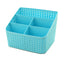 Lovely Practical Storage Basket Storage Container Desktop Receive Container,BLUE