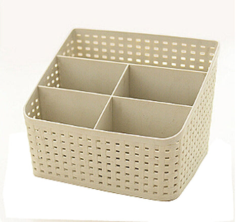 Lovely Practical Storage Basket Storage Container Desktop Receive Container,GRAY