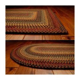 Wool Braid Rugs Rectangle Budapest 4'x6'