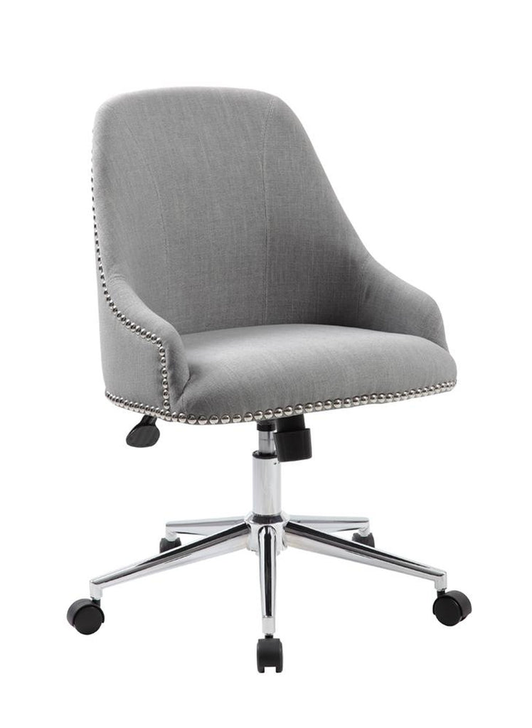Carnegie Desk Chair - Grey