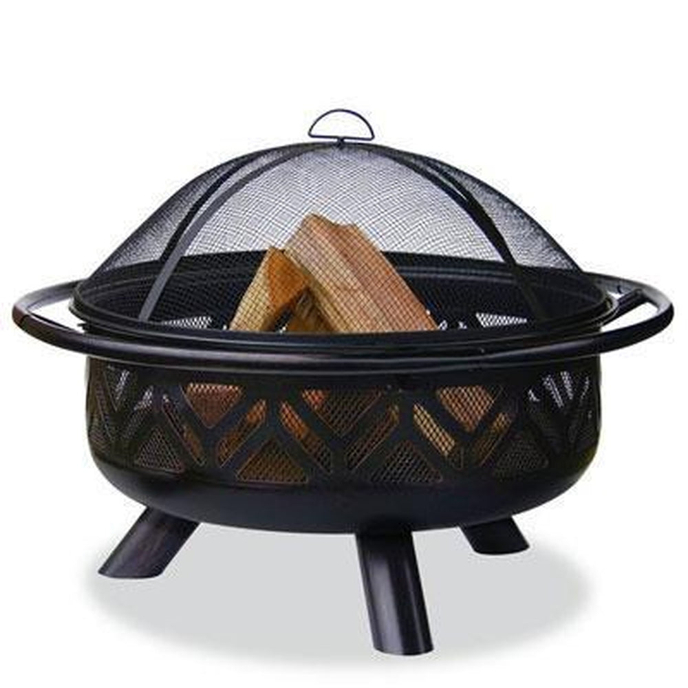 "UNIFLAME 36"" OUTDOOR FIREBOWL OIL RUBBED BRONZE"