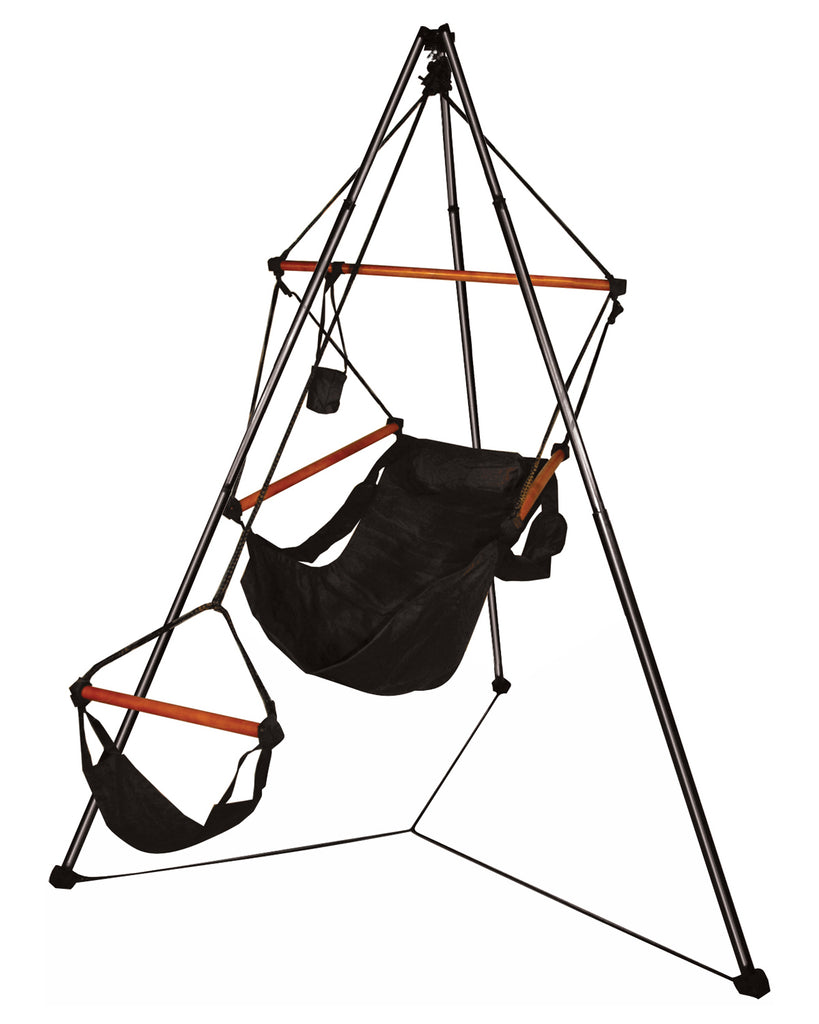 Hammaka Portable Outdoor/Camping Tripod Stand With Hanging Air Chair Combo